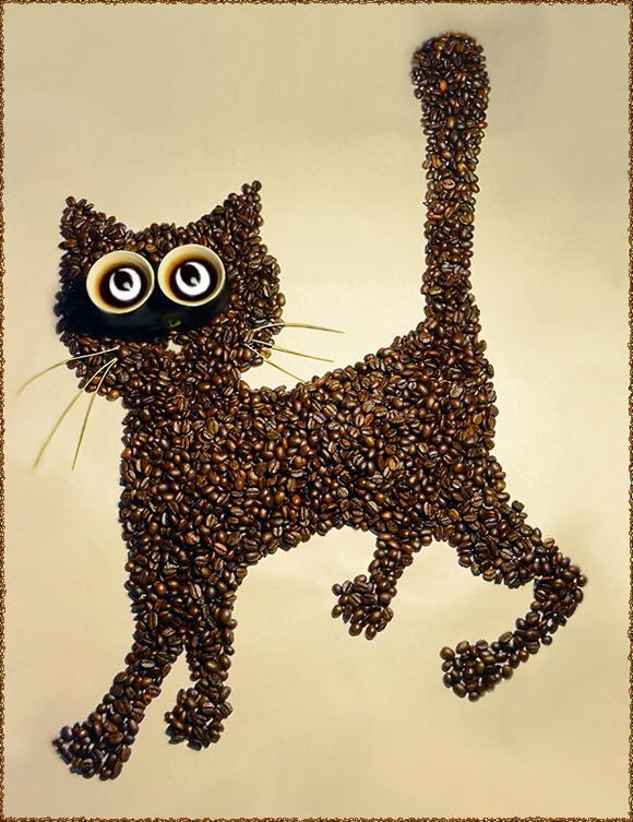 Hình ảnh ấn tượng từ những hạt cà phê